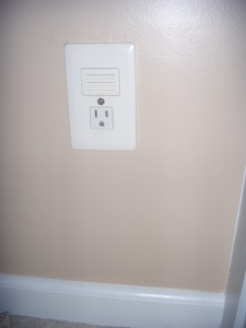 Replace your boring electrical outlet with a snazzy in wall night light what are the night lights in your home like aloadofball Images