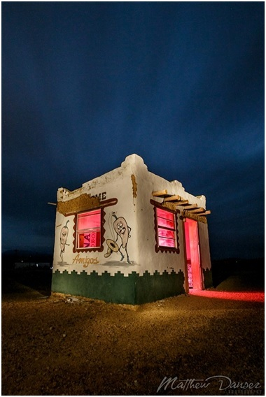 Danser Ghost Town Light Painting