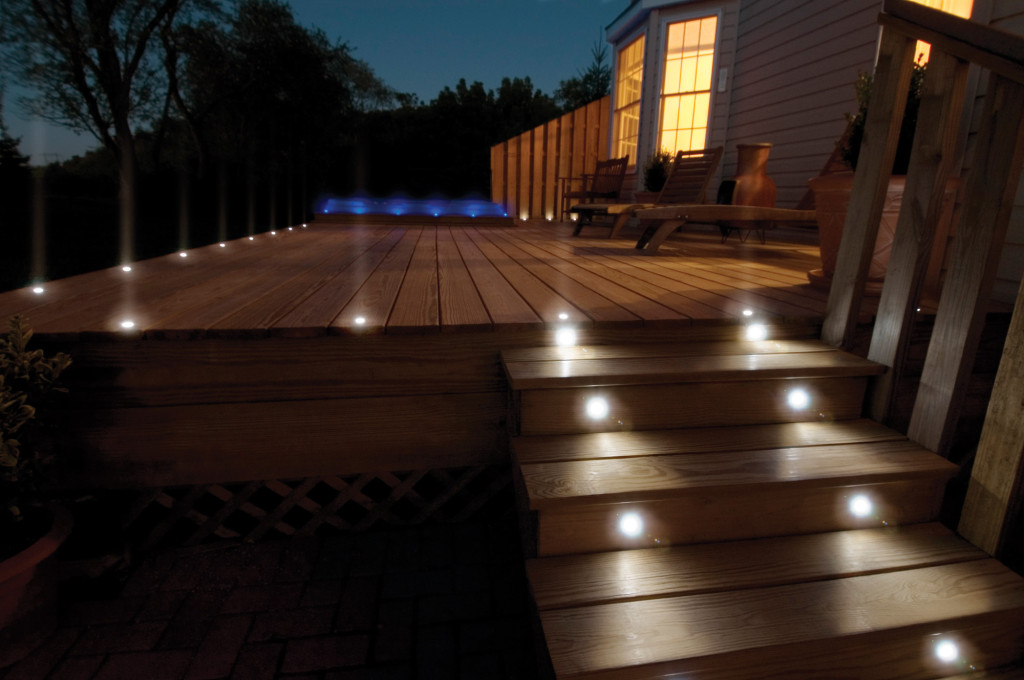 How To Install Outdoor Deck Lighting Fixtures Doityourself