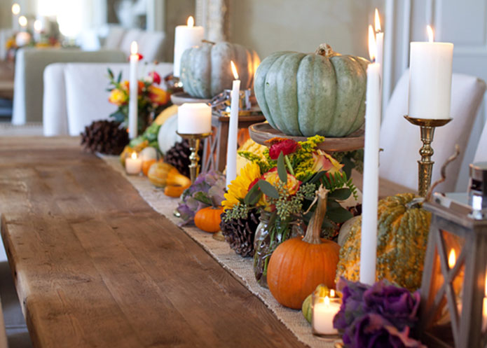 Lettered Cottage Thanksgiving Table