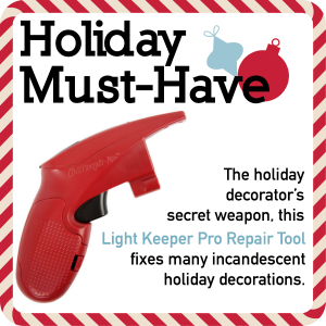 holiday light repair tool