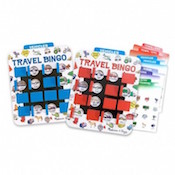 Travel Bingo stocking stuffer